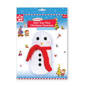 Knit Your Own Christmas Snowman Kit