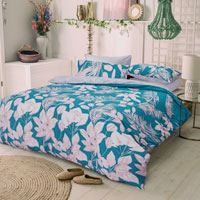Home Collections Jungle Leaves Duvet Set