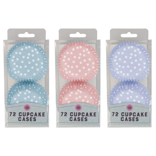 Spot Cup Cake Cases 72 Pack
