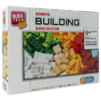 Assorted Building Blocks Collection