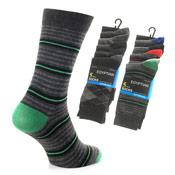 Mens Egyptian Cotton Rich Socks