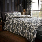 Incognito Green Camouflage Duvet Set