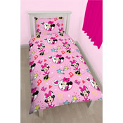 Minnie Mouse Single Reversible Duvet Set
