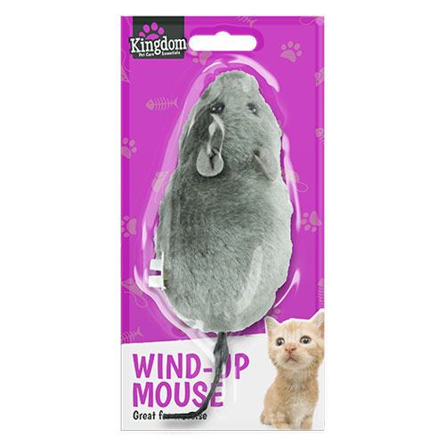 Wind Up Mouse Pet Toy