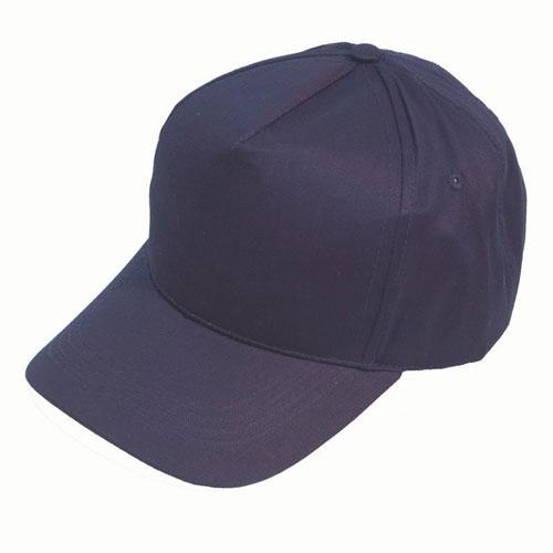 Navy 5 Panel Baseball Cap Ideal for Printing