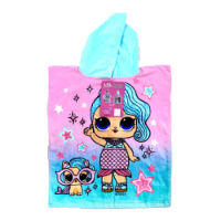 Official LOL Surprise Childrens Towel Poncho
