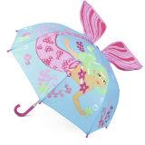 3D Mermaid Kids Umbrella