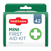 Mini First Aid Kit In Travel Size Case