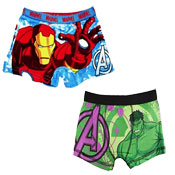 Boys Avengers Boxer Shorts 2 Pack