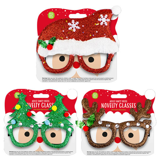 Christmas Novelty Design Party Glasses