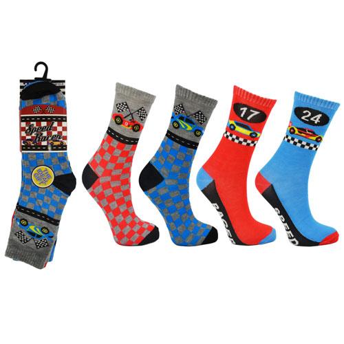 Speed Racer Childrens Novelty Socks
