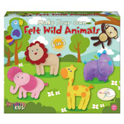 Make Your Own Felt Wild Animals Carton Price