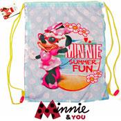 Minnie Mouse Drawstring Swim/Shoe Bag