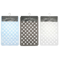 Retro Design PVC Bath Mats