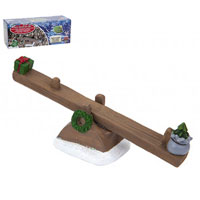 Secret Fairy Garden Winter Woodland See Saw