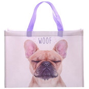 Pug Woof Shopping Bag