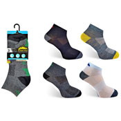 Mens Trainer Socks Assorted Colours