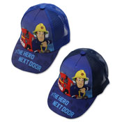 Official Childrens Fireman Sam Hero Baseball Cap