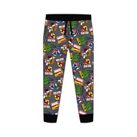 Official Mens Marvel Comics Lounge Pants
