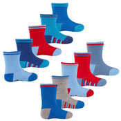 5 Pairs Baby Boys Socks With Grip