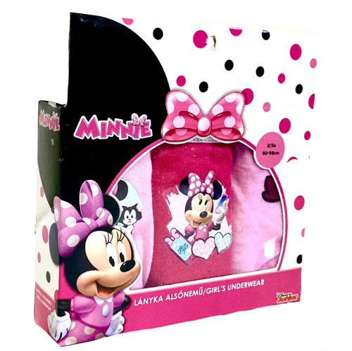 Official Girls Disney Minnie Mouse Character Briefs