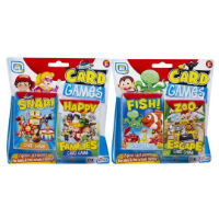 2 Assorted Flash Card Games