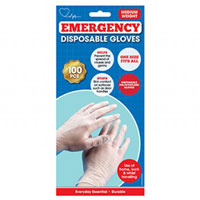 100 Pack Disposable Gloves One Size