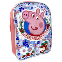 Official Peppa Pig Strawberry Jam Character Backpack