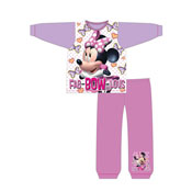 Girls Toddler Minnie Mouse Fabulous Snuggle Fit Pyjama