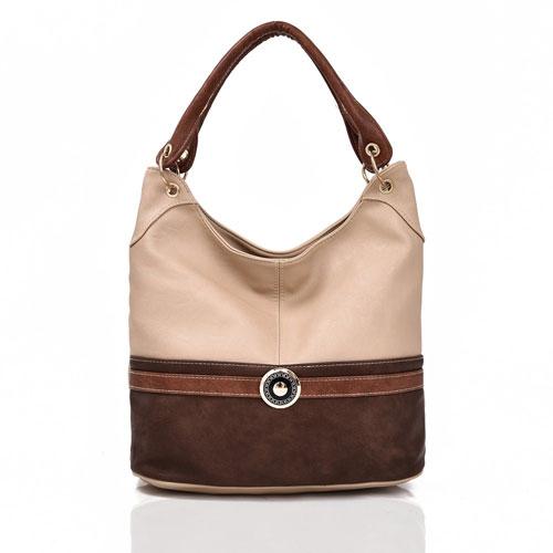 Tulisa Jewel Embelish Tote Bag Cream