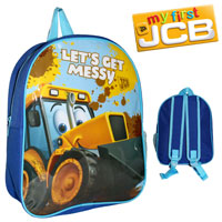 Official Joey JCB Nursery Backpack With Mesh Blue
