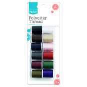 Polyester Thread 32m - 12 Pack