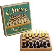 Traditional Wooden Chess Game