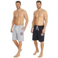 Mens Plain Jersey Lounge Shorts