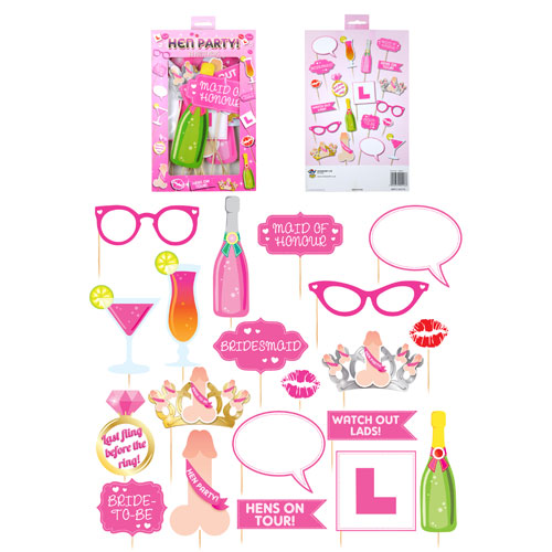 Hen Party Photo Props With Stick