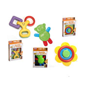 Baby Shapes Rattle & Teether