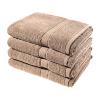 Luxury Cotton Bath Sheet Mink