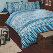 Marrakesh Blue Duvet Set