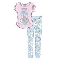 Official Ladies Dumbo Pyjama Set