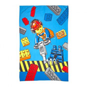 Lego City Construction Childrens Character Fleece Blanket Throw