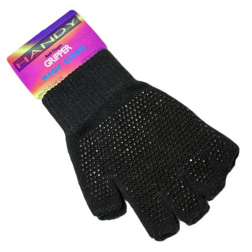 Half Finger Gripper Magic Gloves