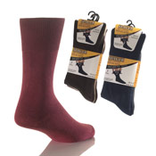 Mens Diabetic Socks Cotton Non Elastic