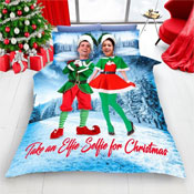 Elf Selfie For Christmas Duvet Set