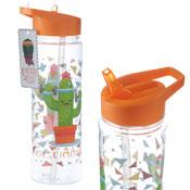 Lets Cactercise Cactus Water Bottle