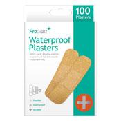 Waterproof Plasters 100 Pack