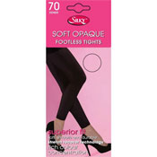 70 Denier Soft Opaque Footless Tights