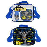 Official Batman I am the Night Lunch Bag Set 3 Piece