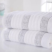 Spa Luxury Cotton Bath Towels White