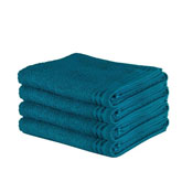 Luxury Wilsford Cotton Bath Sheet Teal