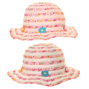 Girls Short Brim Floral Print